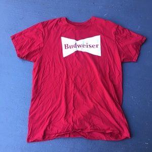 Shirts - Red Budweiser shirt